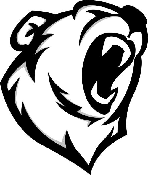 small resolution of polar bear mascot logo speedart ckeck comments