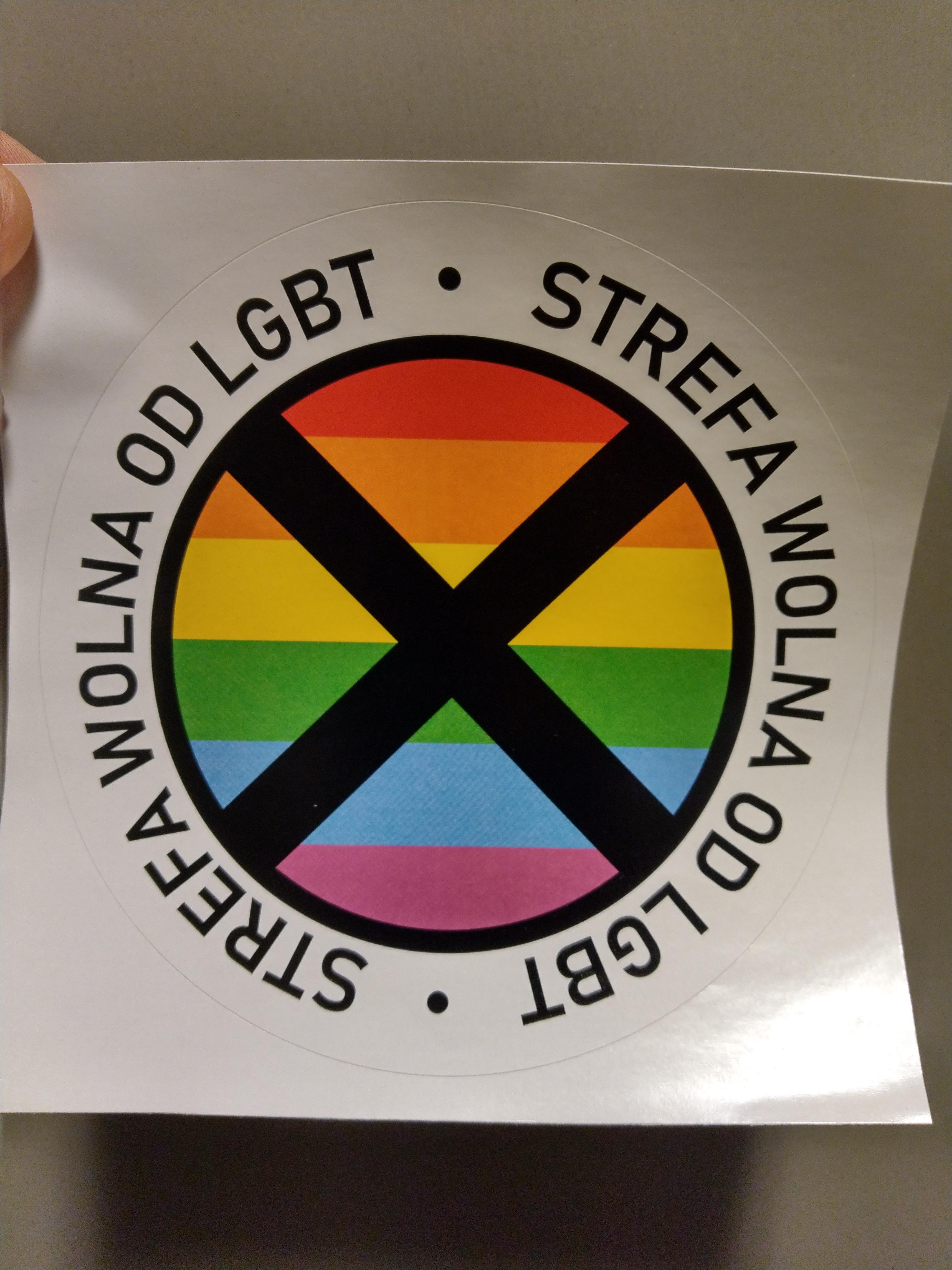this lgbt free zone