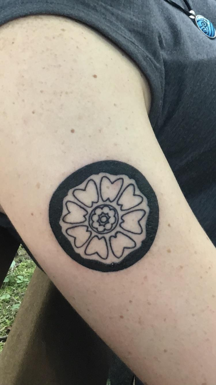 White Lotus Tile Tattoo : white, lotus, tattoo, White, Lotus, Tattoo, Honor, Order, TheLastAirbender