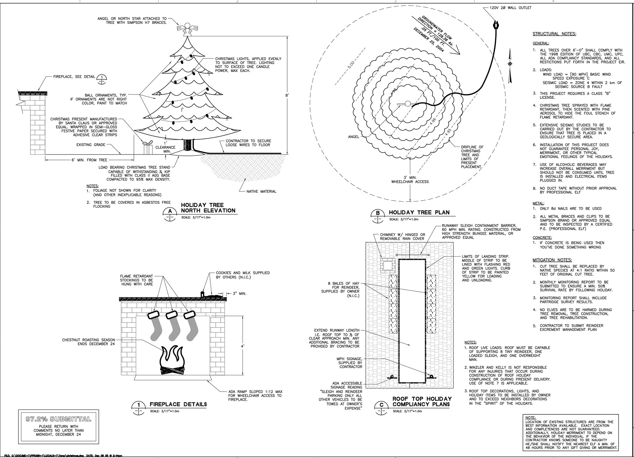 How engineers prepare for Christmas : funny