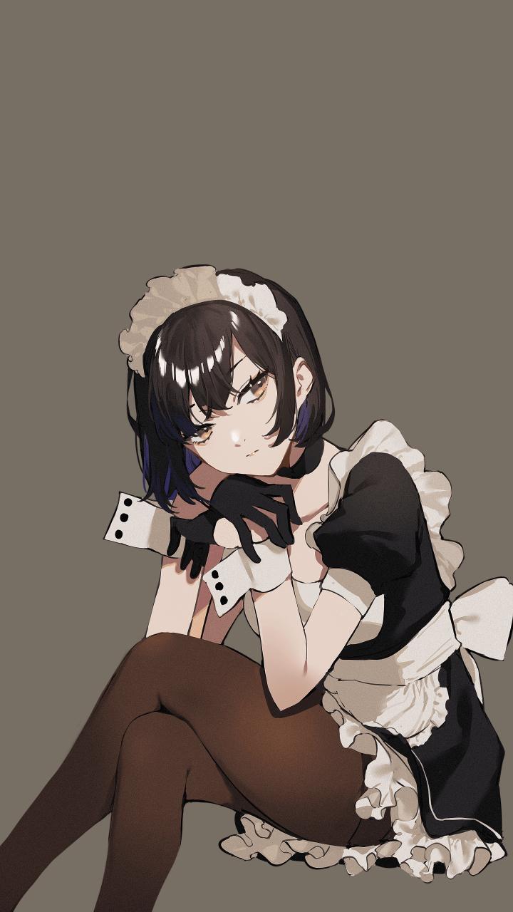Pensive Maid [Original] (2880×5120)+