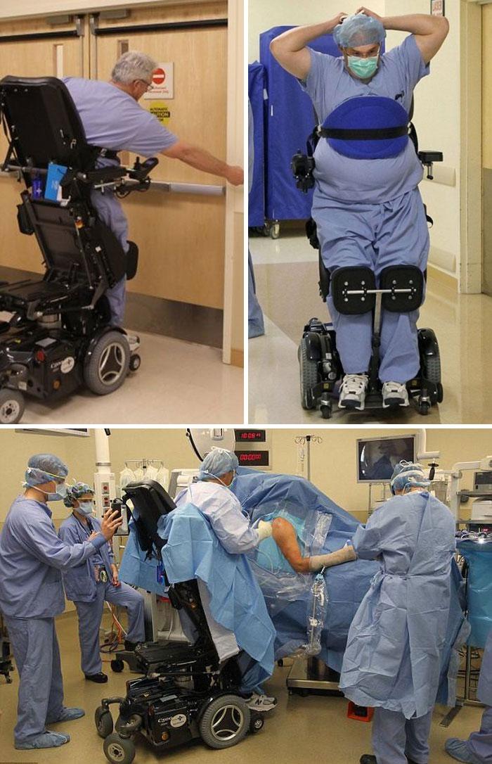 Ted Rummel Surgeon : rummel, surgeon, Rummel, Orthopedic, Surgeon, Missouri,, Unbelievable, Returning, After, Blood, Filled, Spine, Burst, Paralysed, Waist