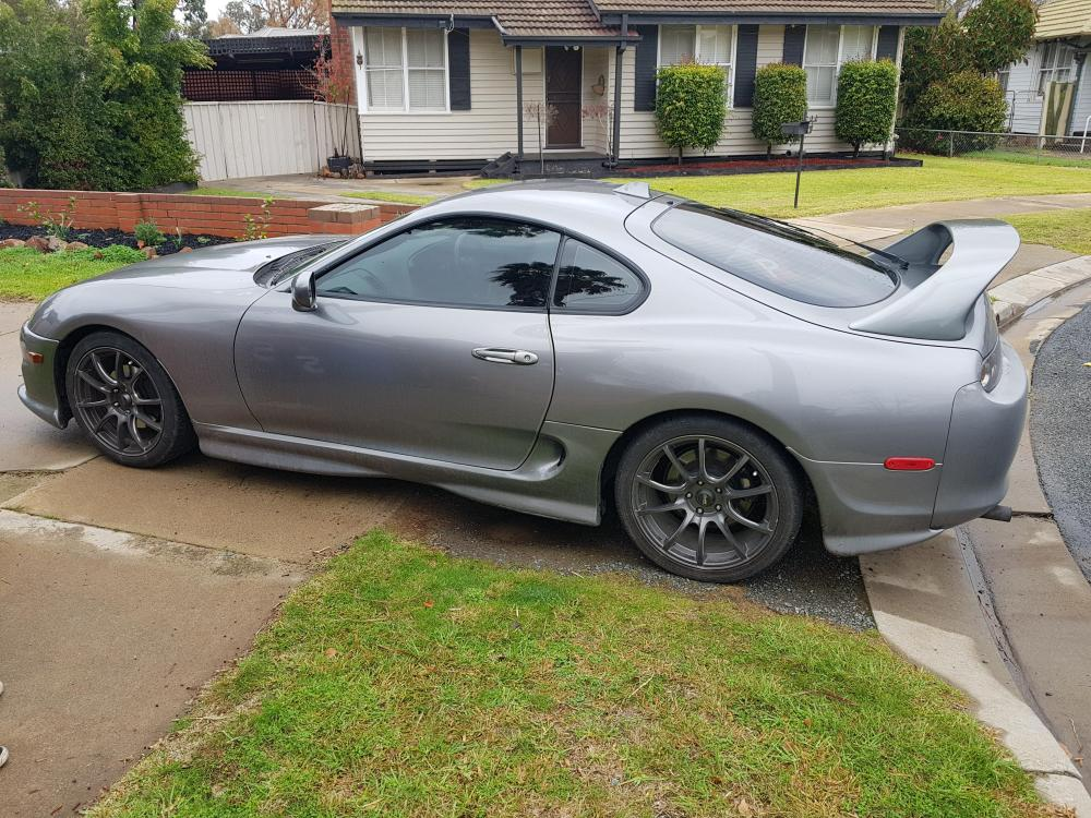 medium resolution of 2001 supra might not be that special to some but dads first car was a first gen supra and they were planning to work on it together