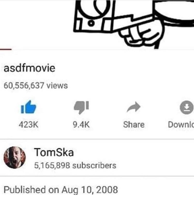 asdfmovie is 10 years
