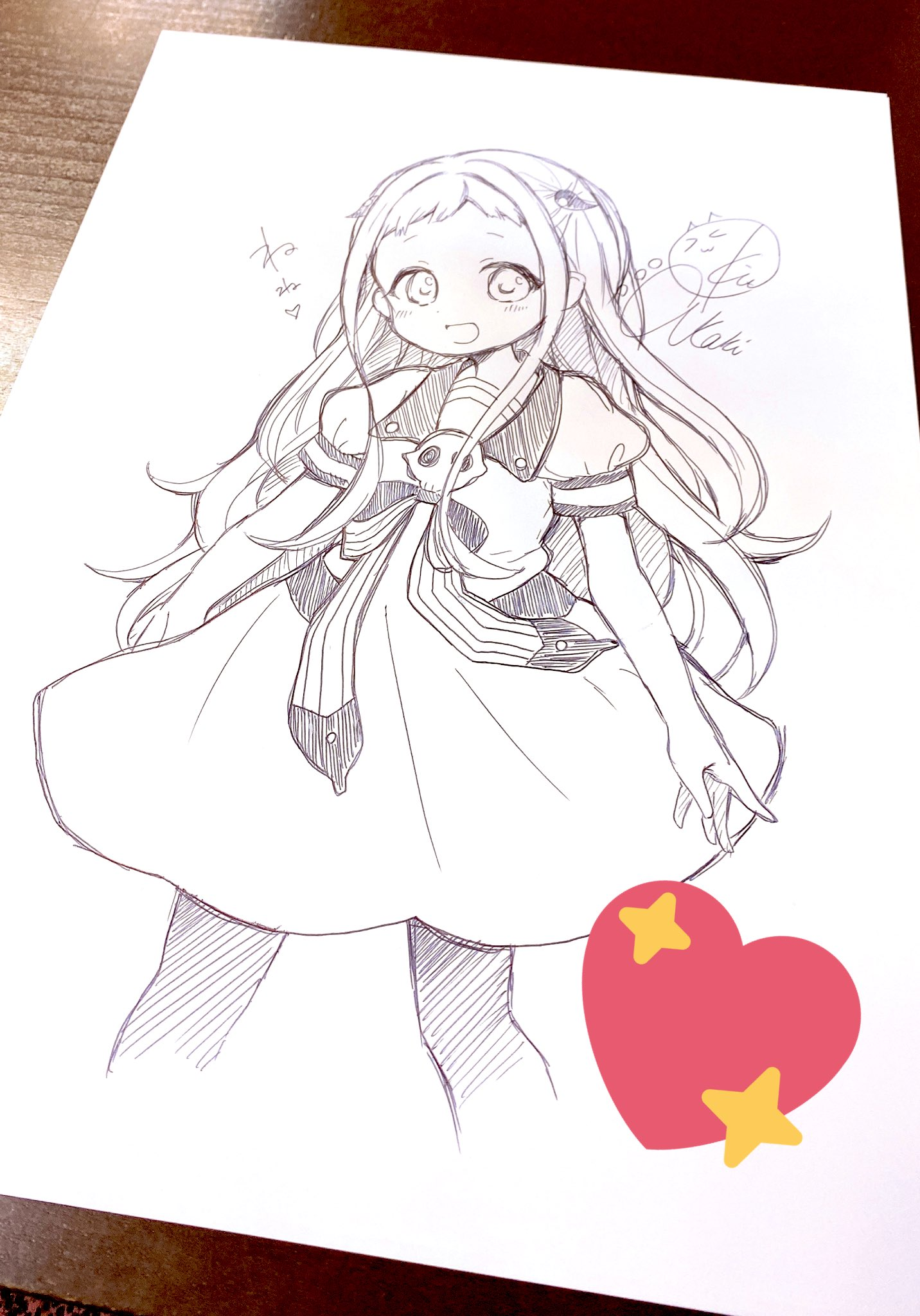 King of prism as kakeru juuouin. Akari Kitō S Drawing Of Her Character Yashiro Hanakokun