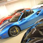 Blu Corsa 488 Spider At Miller Motorcars Greenwich Ct Last Week Ferrari
