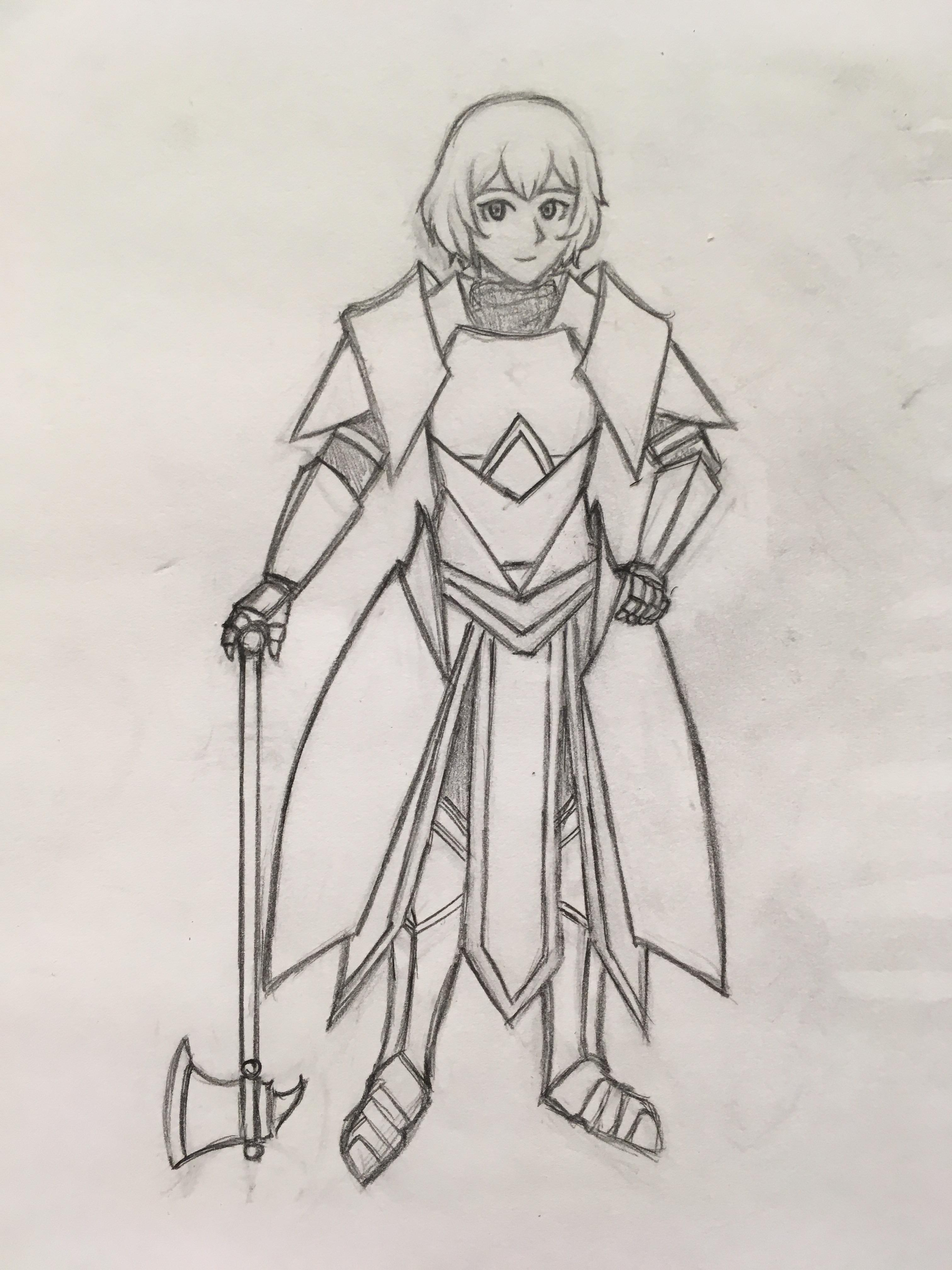 Drawing Of Armor : drawing, armor, First, Drawing, Full-body/armor,, Learntodraw