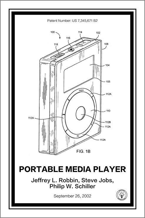 Found this cool G1 patent wallpaper : ipod