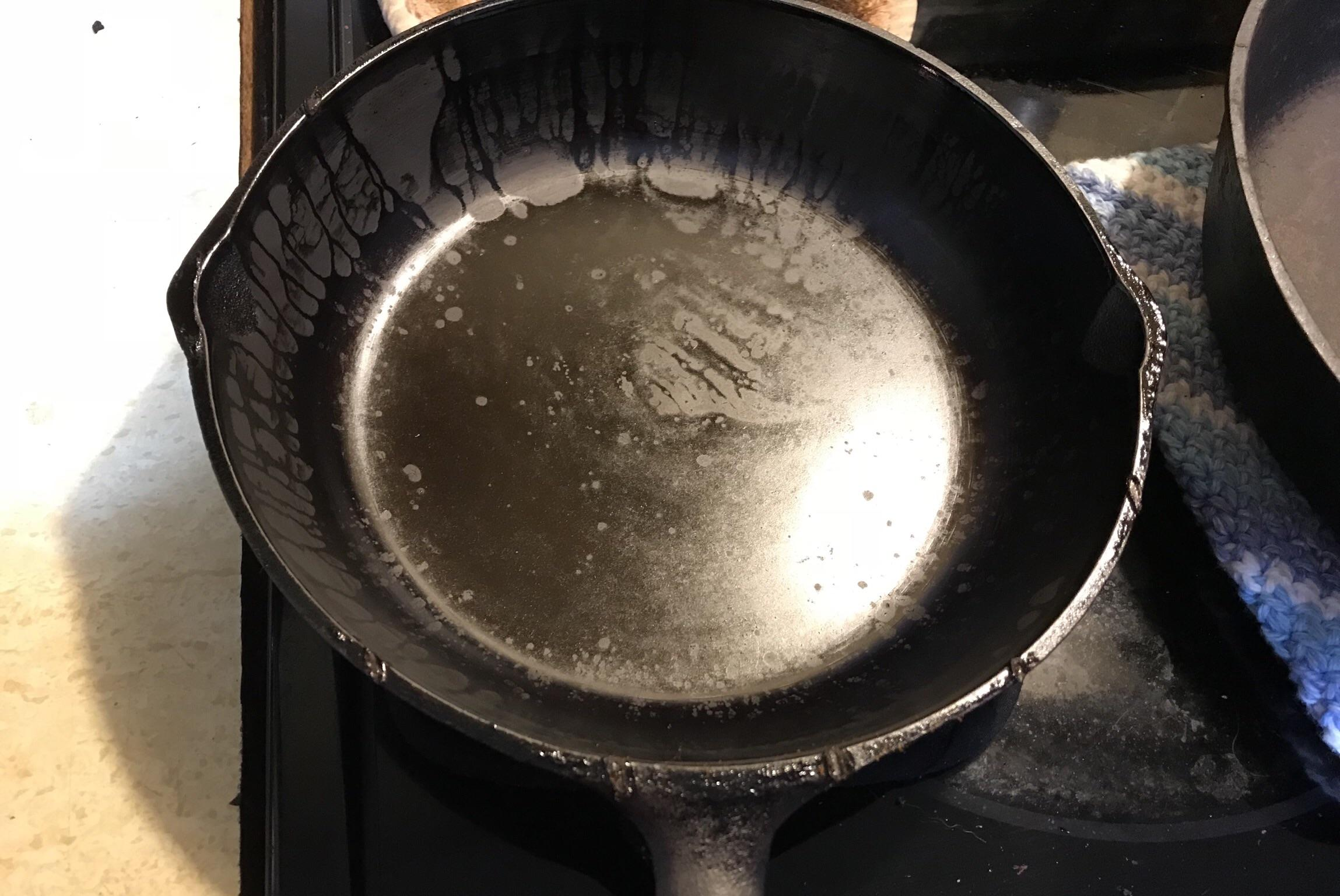 foolproof cast iron seasoning