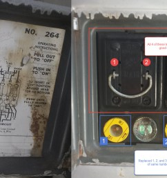 fuse box in detached garage wiring diagram usedfuses in detached garage with no power electricians fuse [ 1720 x 904 Pixel ]