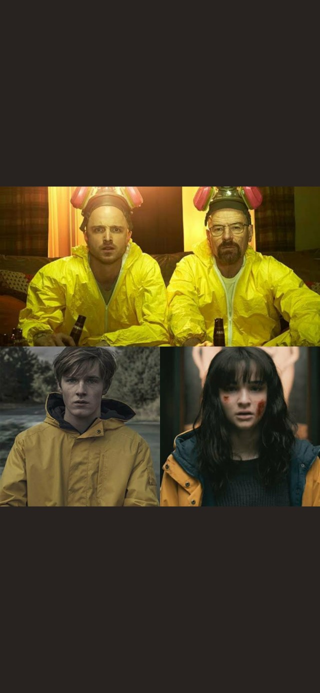NO SPOILERS] ALL IT TAKES IS A YELLOW RAINCOAT/JACKET TO MAKE A PERFECT  SERIES. : DarK