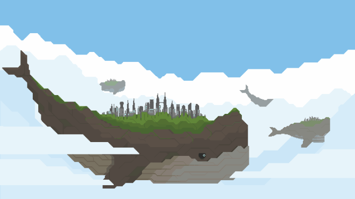 Some Sky Whales [3840×2160]