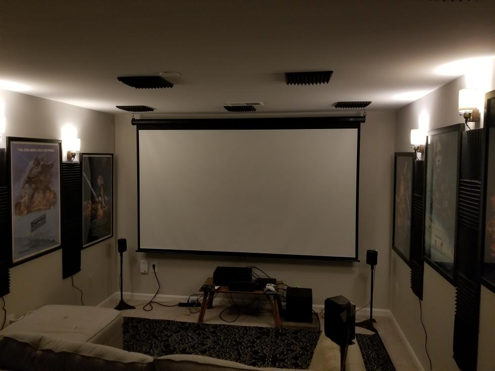 medium resolution of av pornapartment home theater set up i still have some cable management to do