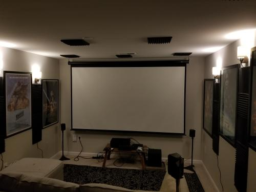 small resolution of av pornapartment home theater set up i still have some cable management to do