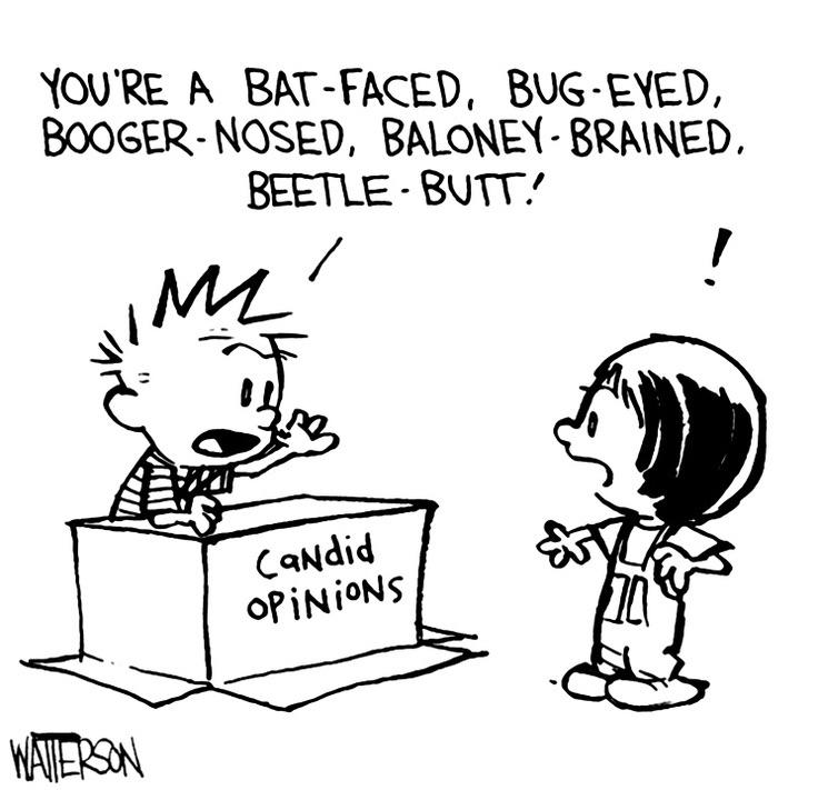 This is a job a lot of us would excel at... : calvinandhobbes