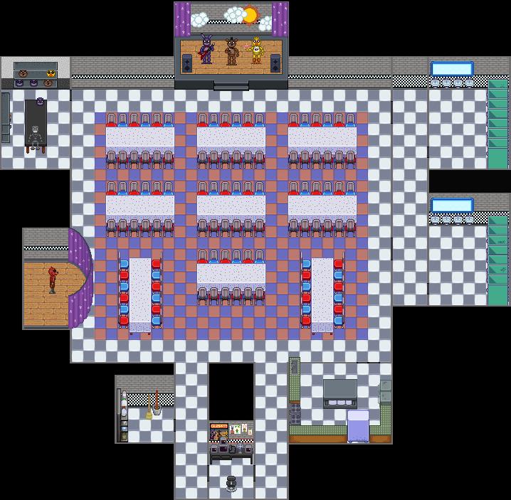 fnaf 1 map sprited