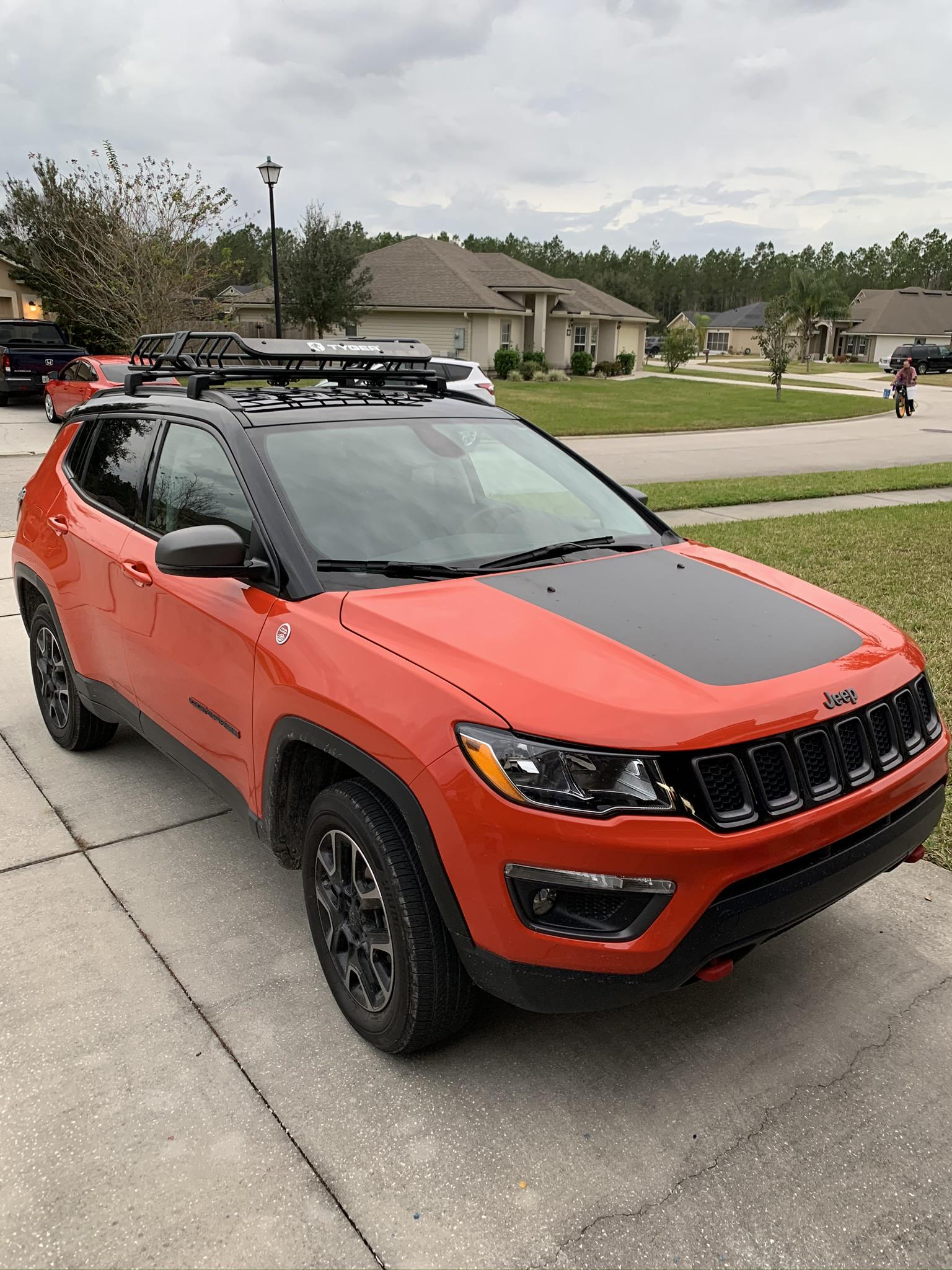 new roof rack day on my 2019 spitfire