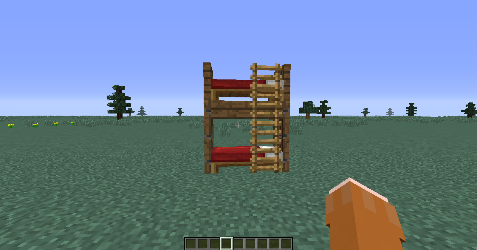 Oh Please Get Creative With Bunk Beds Minecraft