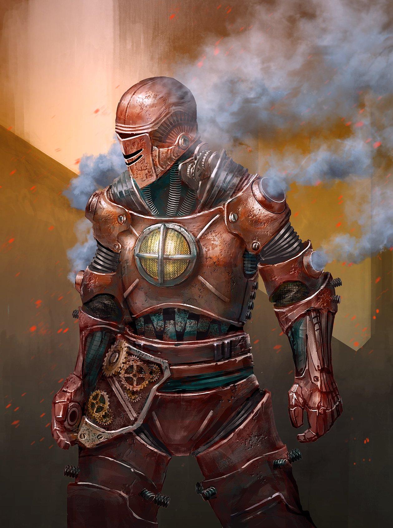 Steampunk Iron Man : steampunk, Steampunk, Thomas, Marvel
