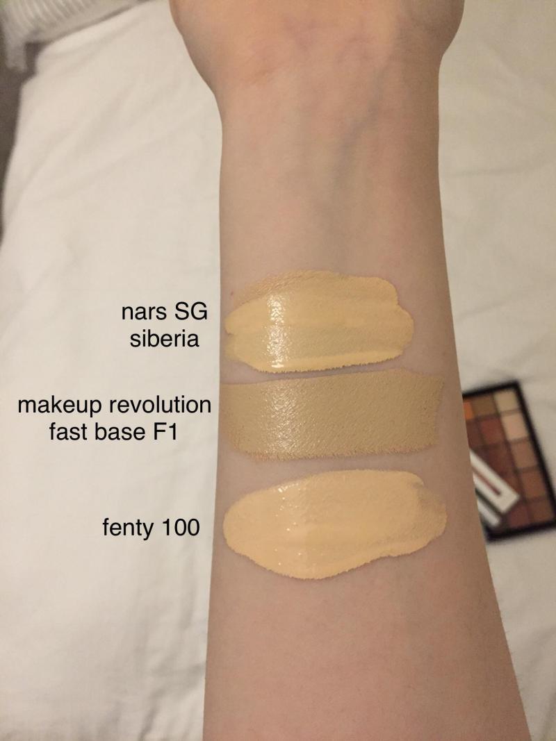 Makeup Revolution Fast Base Foundation