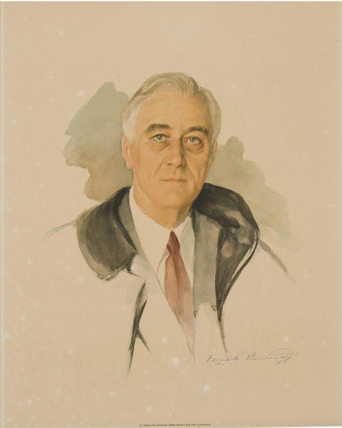 Unfinished Portrait Of Franklin D Roosevelt : unfinished, portrait, franklin, roosevelt,