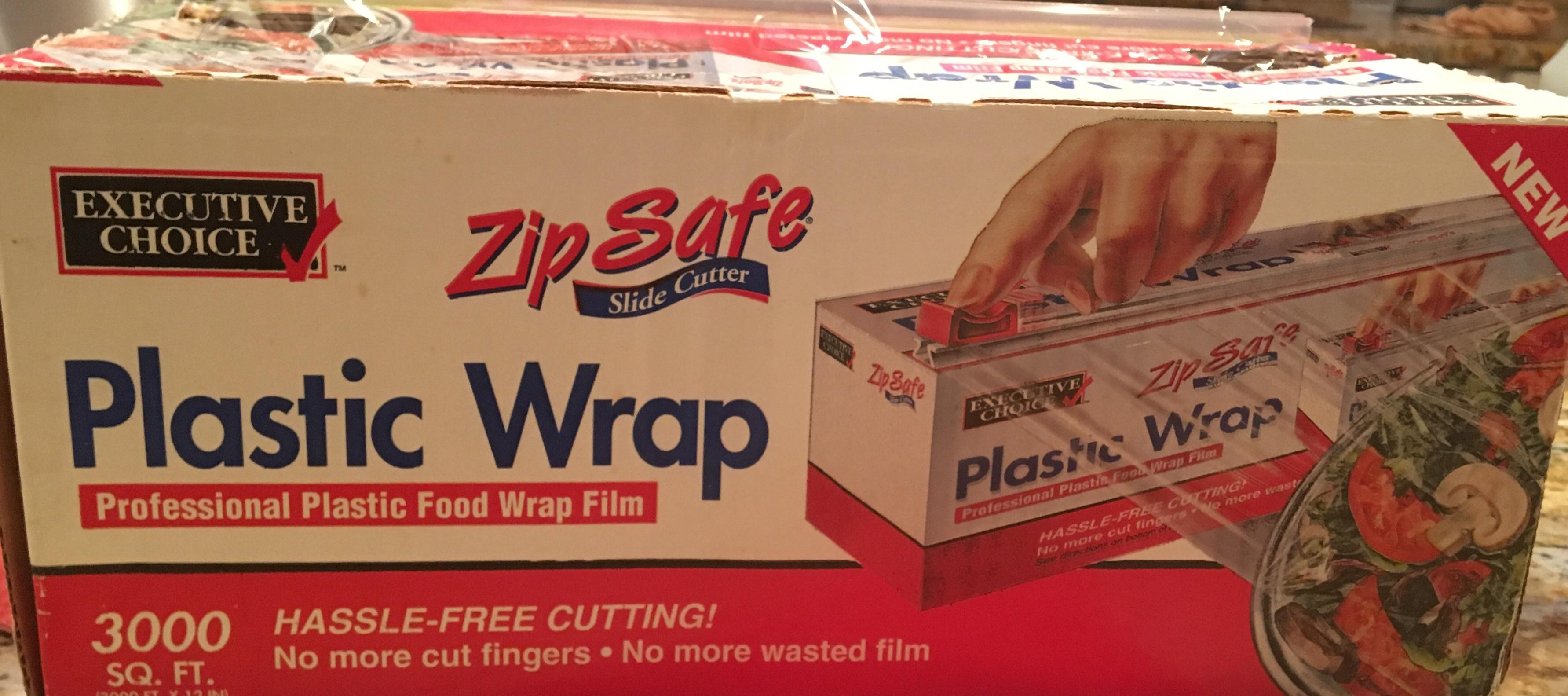 this plastic wrap box