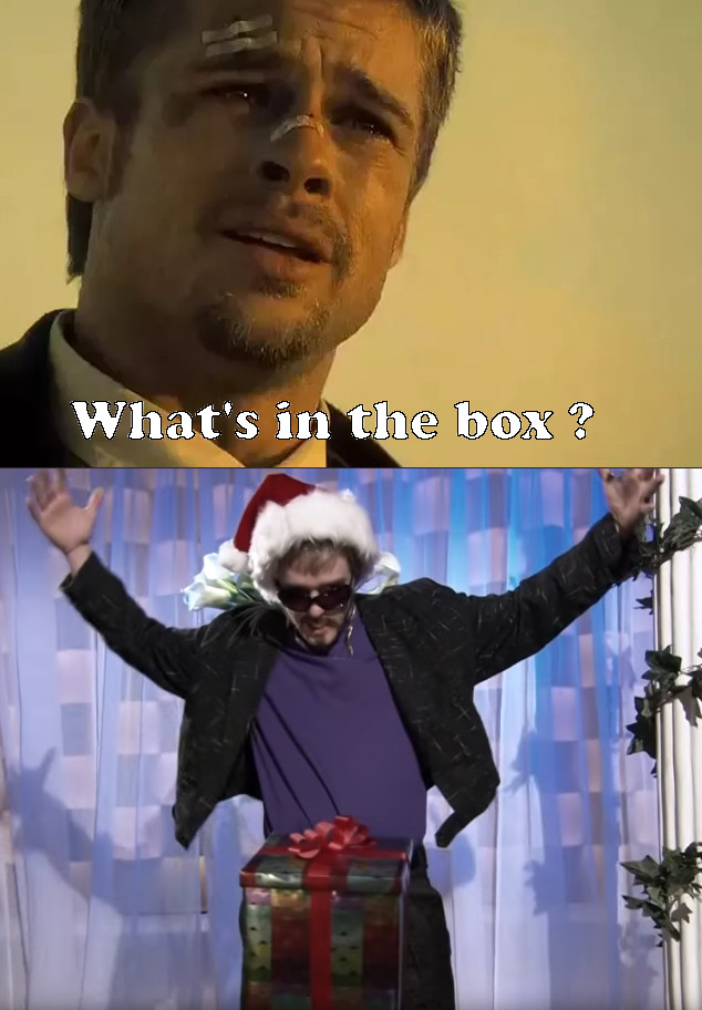 Whats In The Box Meme : whats, What's