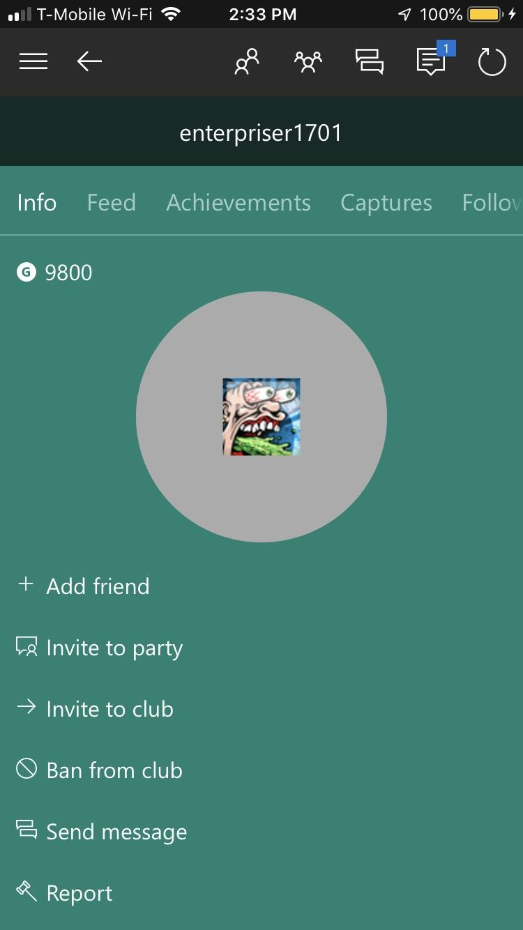 Xbox 360 Profile Pictures : profile, pictures, Anybody, Gamer, Called:, Xboxone