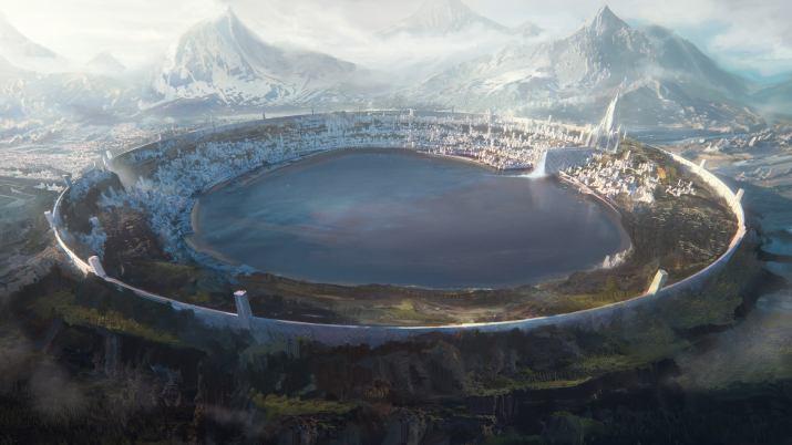 City of Gods [3840 x 2160]