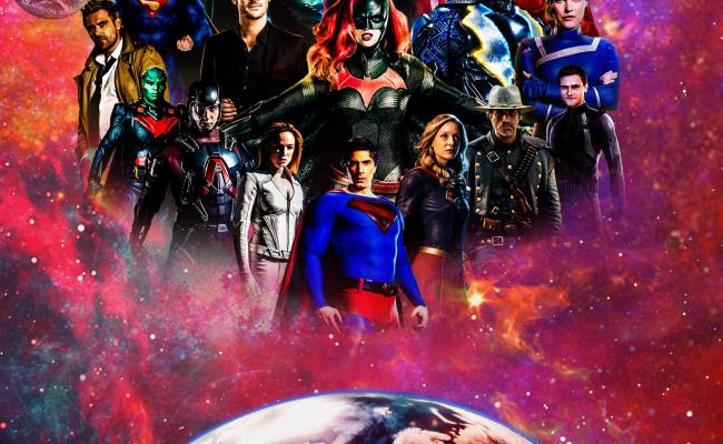 Here S My Fan Made Poster For Crisis On Infinite Earths