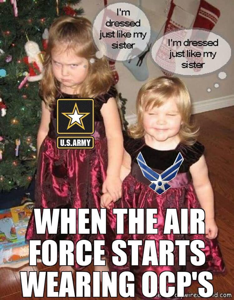 Air Force Vs Army Meme : force, Force, Wearing, AirForce