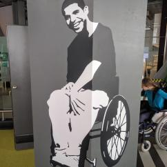 Wheelchair Drake Swing Chair Briscoes This Science Center Exhibit Has A Photo Of In On It