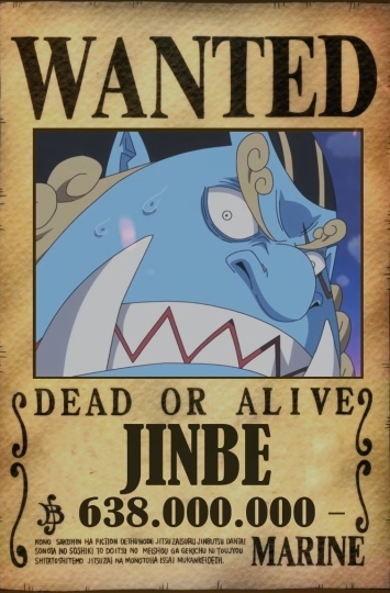 As of *ep.45* luffy had a bounty of 30 million berries making him the highest from east blue. Jinbe Bounty Reddit Post And Comment Search Socialgrep