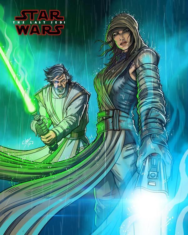 The Last Jedi Star Wars Fan Art