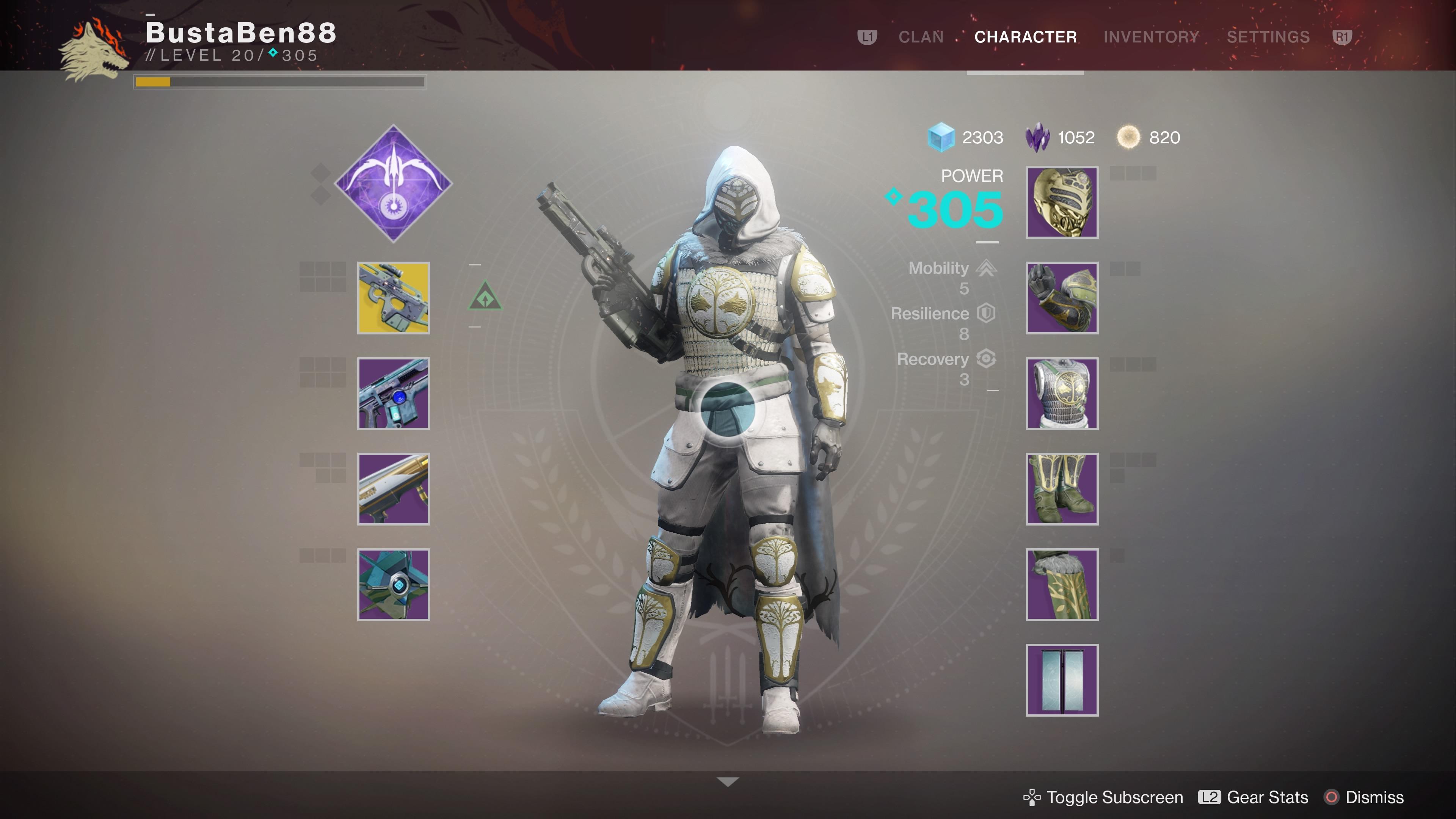 iron banner gear w