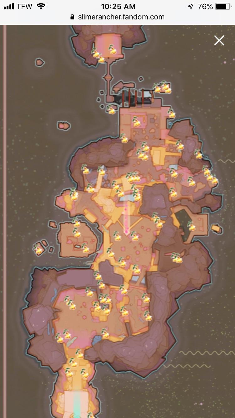 Slime Rancher Map : slime, rancher, Gilded, Ginger, Spawn, Points., Website, Slimerancher