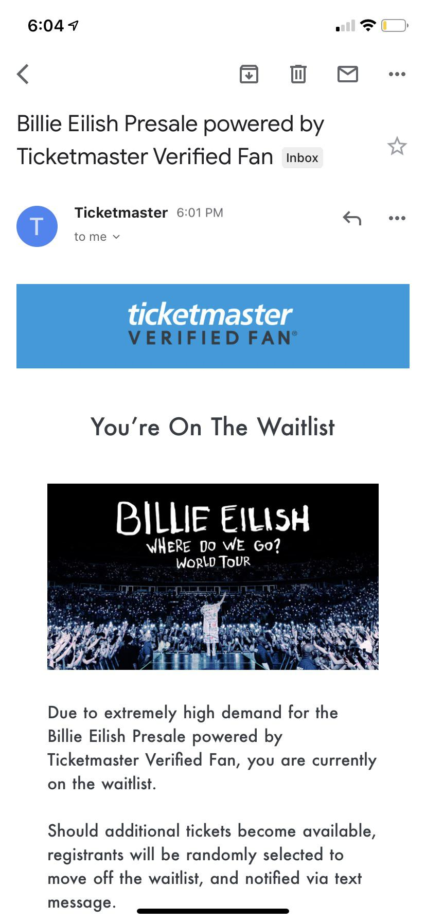 How do I register for a Verified Fan event? - Ticketmaster