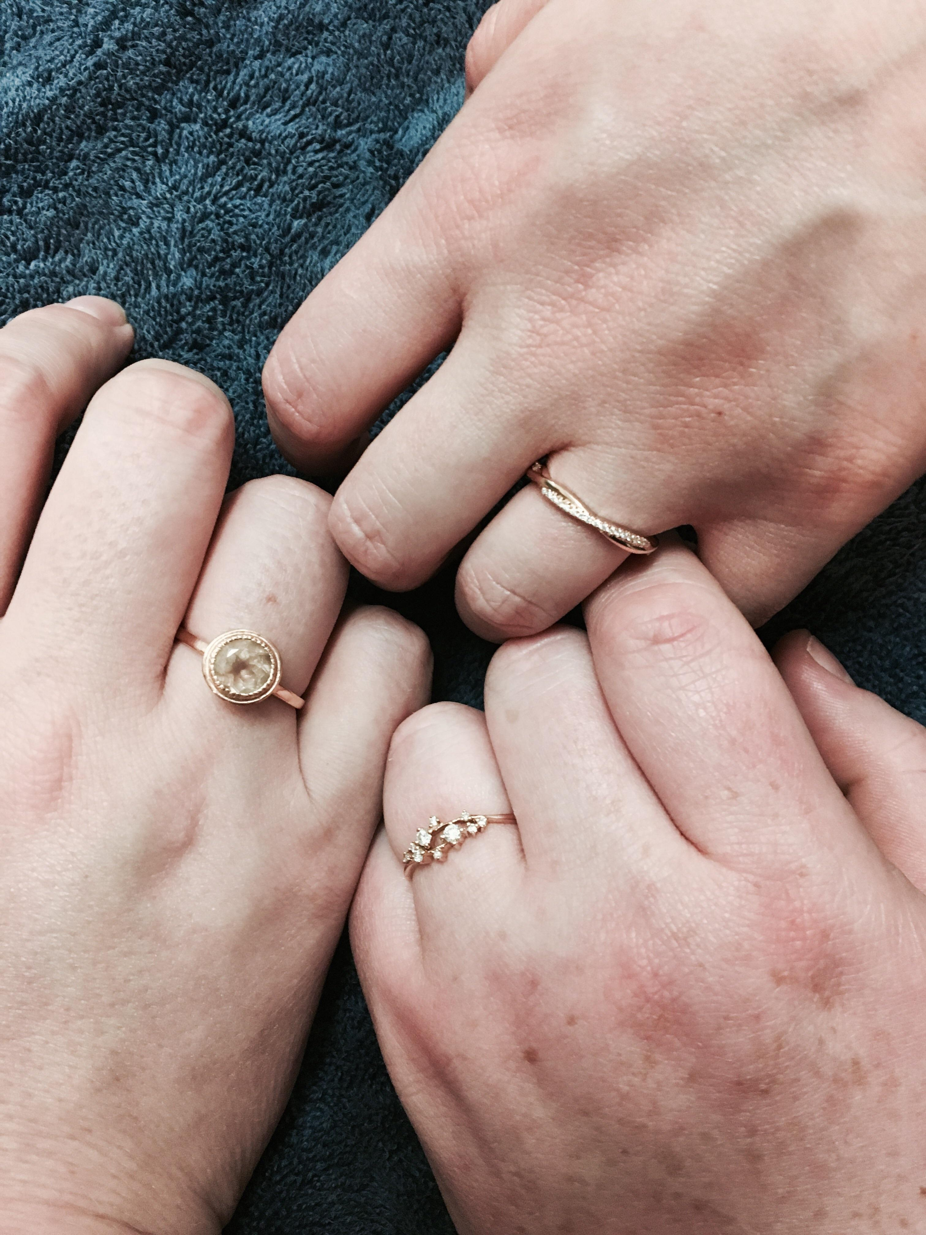 Polyamorous Wedding Rings : polyamorous, wedding, rings, Model,, Share!, Polyamory