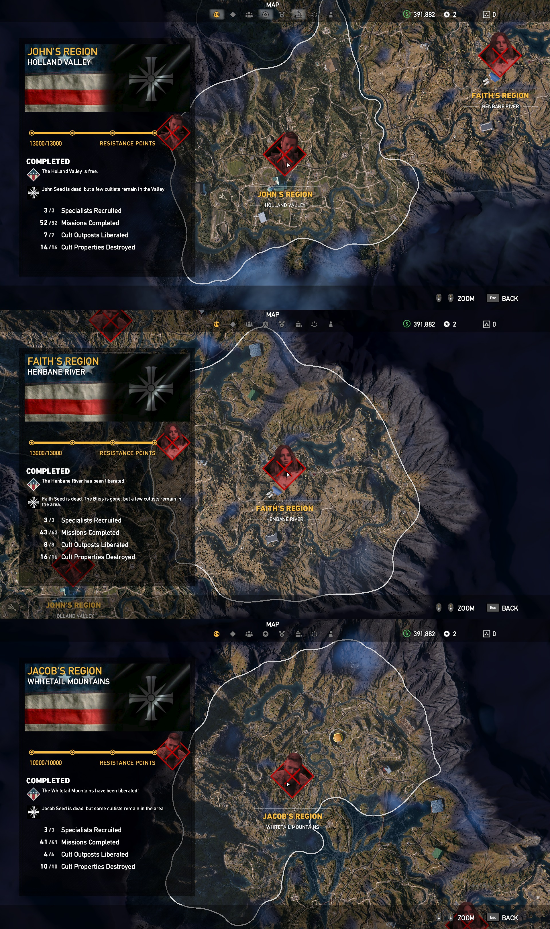 Far Cry 5 Shrines : shrines, Completion, Infamous, Farcry