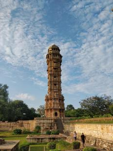 Vijaya Stambh - an imposing victory monument of about 38 meters , located within Chittor Fort in Chittorgarh, Rajasthan, India. The tower was constructed by the Mewar ...