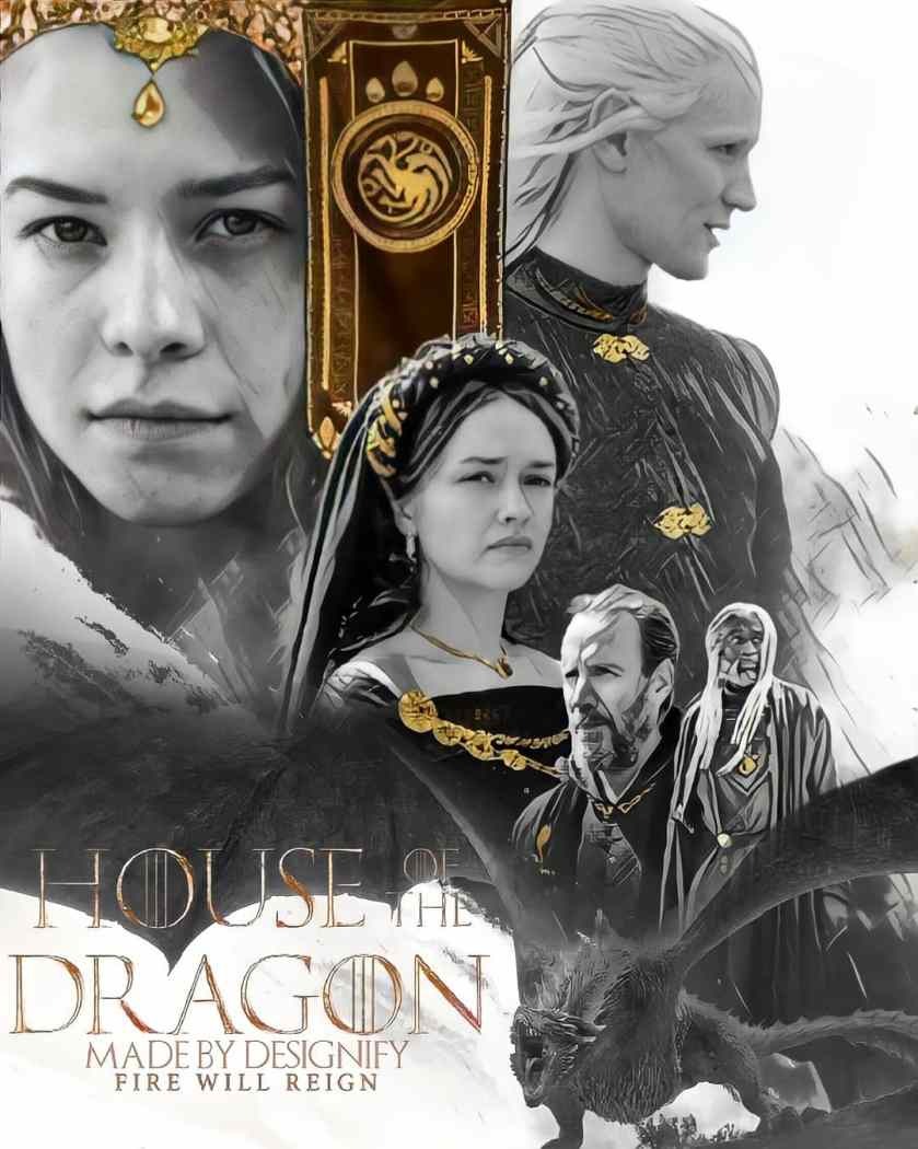 No Spoilers] House of the Dragon Poster: gameofthrones