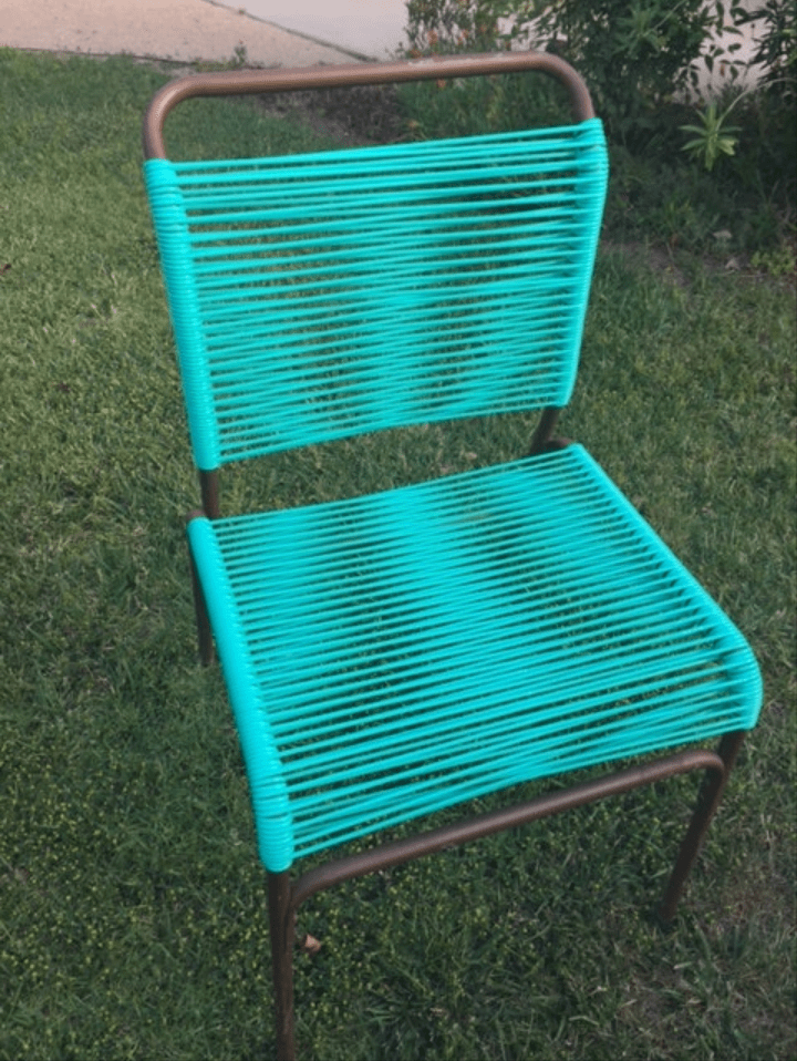 vinyl folding lawn chairs cvs beach i see your tube strap chair and raise you this ass thigh pinching horror