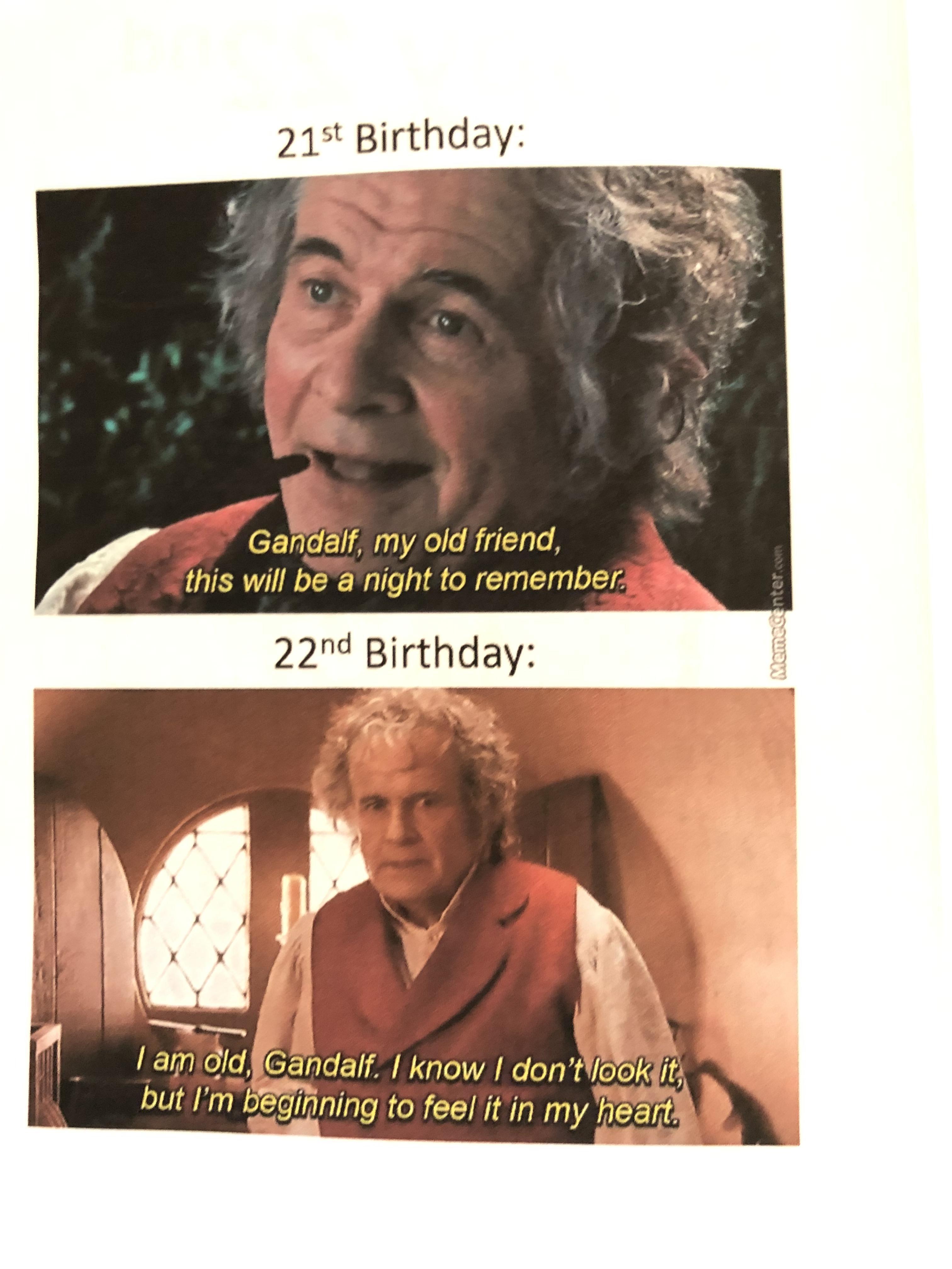 Lord Of The Rings Happy Birthday Meme : rings, happy, birthday, Rings, Birthday, Memes