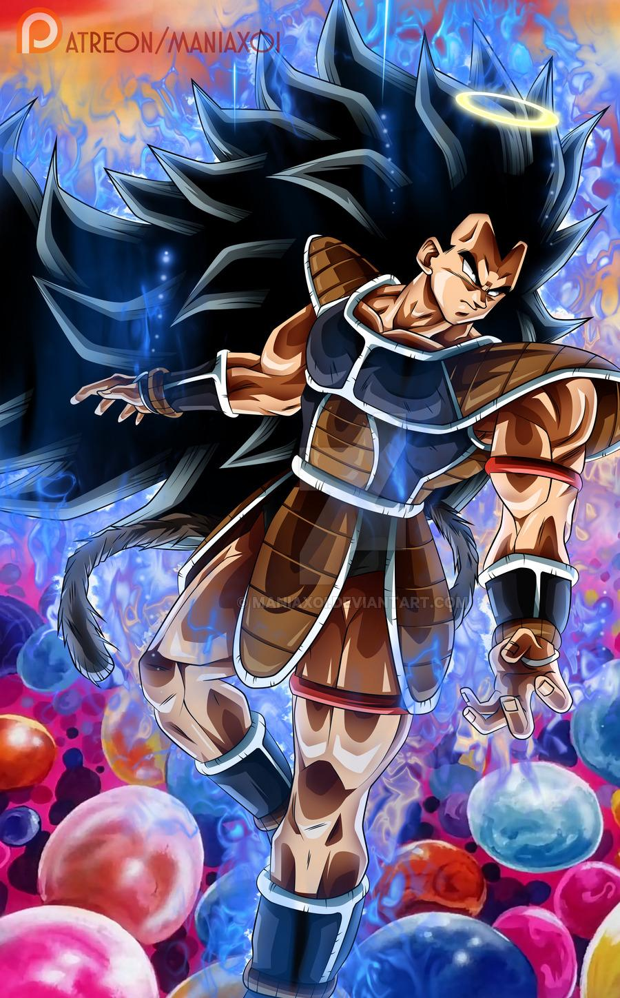 Live wallpaper app for android. Raditz 900x1448 + live wallpaper in comments ...