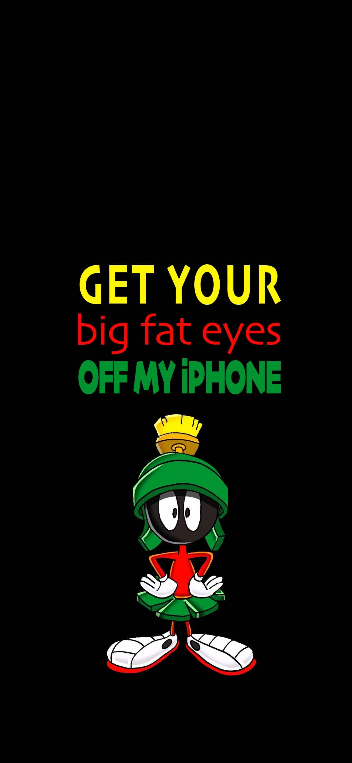 Iphone X Notch Wallpaper Reddit Iphone Xs Wallpaper For Fans Of Marvin The Martian