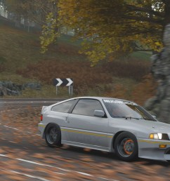 forza horizonripping the downhill in my 84 mugen crx  [ 1920 x 1080 Pixel ]