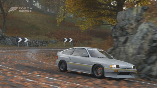 small resolution of forza horizonripping the downhill in my 84 mugen crx