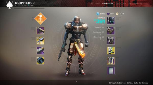 Forsaken Titan Armor Sets - Year of Clean Water