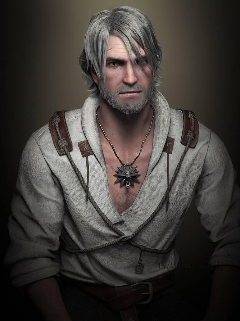 Geralt Of Rivia Hair : geralt, rivia, Unpopular, Opinion:, Short, Haired, Geralt, Witcher