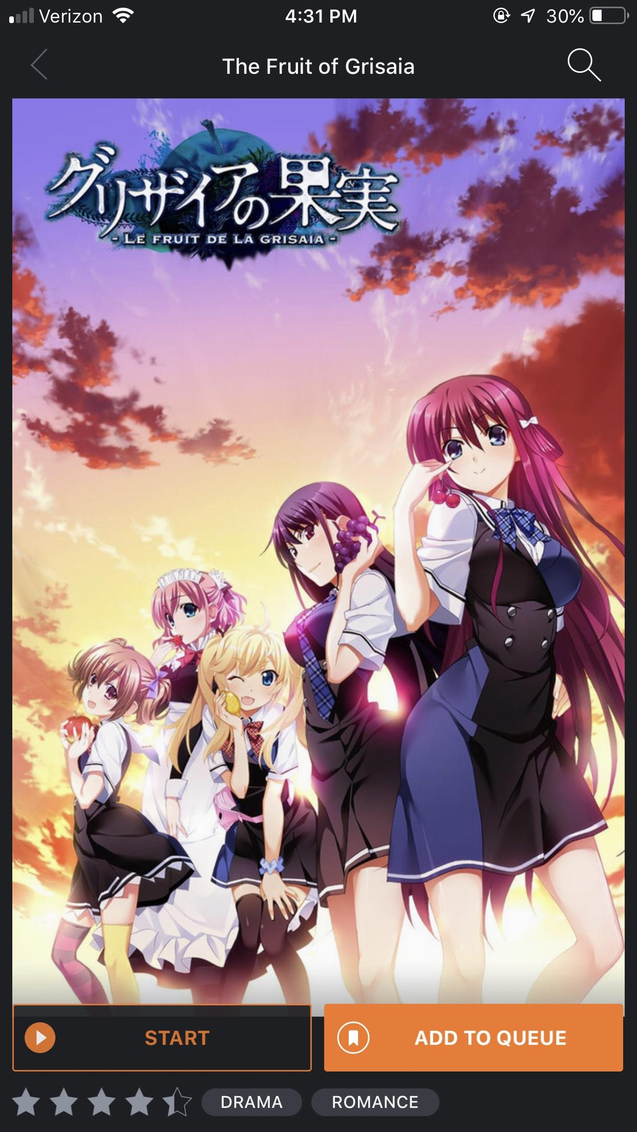 Le Fruit De La Grisaia : fruit, grisaia, Fruit, Grisaia, Uncensored, Crunchyroll